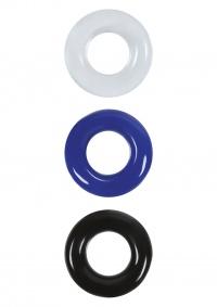 COCKRINGS STAY HARD - zestaw pierścieni dla mężczyzn